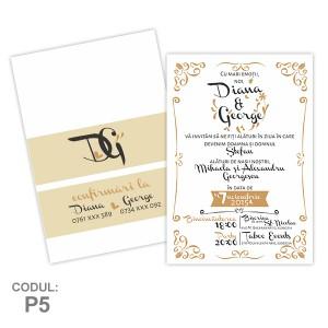 Invitatii Nunta Postcard