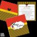 Invitație Botez B29 Mickey Mouse