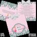 Invitație Botez B45 Aurora Princess