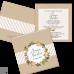 Invitație Nuntă S85 Floral