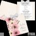 Invitație Nuntă S86 Floral