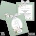 Invitație Nuntă S88 Elegant Floral